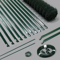 Zaunsets T-Pfosten grün