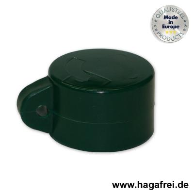 Ösenkappe rund, grün