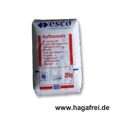 ESCO Qualitäts-Streusalz 25 Kg