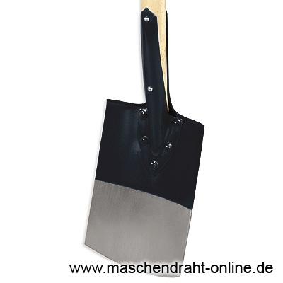 Spaten genietet mit Kunststoffgriff und Profilstiel / 108-A