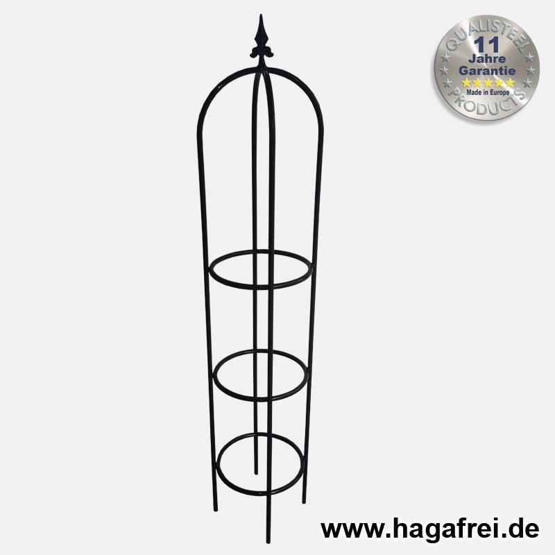 schwerer, massiver Obelisk 150 cm - Maschendrahtzaun und Zubehör ...