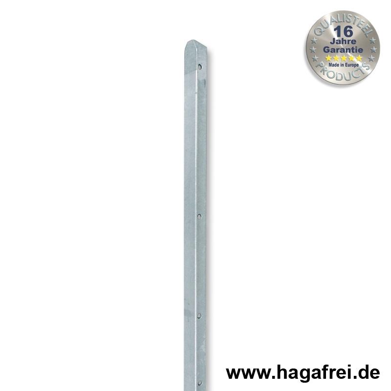 T Zaunpfosten Feuerverzinkt 35mm Breite Maschendrahtzaun Und