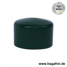 Pfostenkappe rund, grün