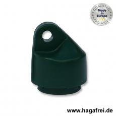Strebenkappe rund, grün