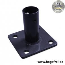 Standfuß für Pfosten Ø 34 mm + Ø 42 mm