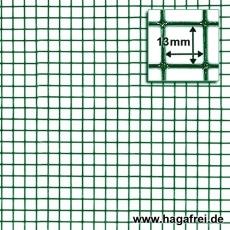 Punktgeschw. Gitter grün 13x13x1,1mm 10m Rollen