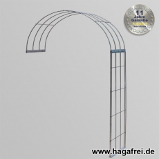 Rosenbogen 2-tlg. feuerverzinkt ca. 2400x1500x400 mm