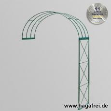 Rosenbogen 2-tlg. Kreuz grün ca. 2400x1500x400 mm