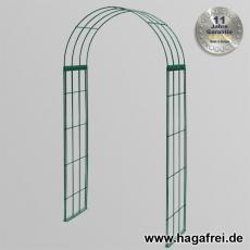 Rosenbogen 3-tlg. grün ca. 2300x1200x400 mm