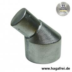 Pfostenabwinkelung Aluminium 60/42 mm