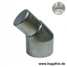 Pfostenabwinkelung Aluminium 48/42 mm