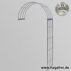 Rosenbogen 2-tlg. feuerverzinkt ca. 2300x1200x400 mm