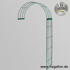 Rosenbogen 2-tlg. grün ca. 2300x1200x400 mm