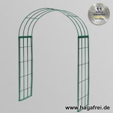 Rosenbogen 3-tlg. grün ca. 2400x1500x400 mm
