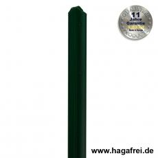 T-Zaunpfosten thermoverzinkt + grün 35mm Breite