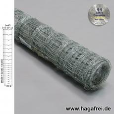 Knotengeflecht extradickverzinkt 145x19x15 50m - AUSLAUF