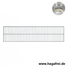Rankgitter 0500 x 2000 mm verzinkt + anthrazitgrau RAL7016