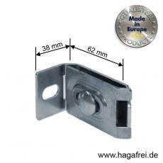 Maueranschluss feuerverzinkt für Rankgitter und Stabmatten