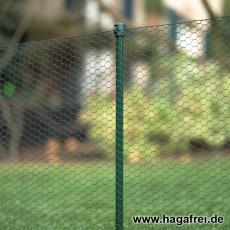 10er Set Gartenstäbe mit Universalkappe