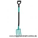 Metallgabel mit Metallstiel und Kunststoffgriff / 141-B