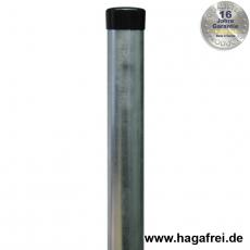 Zaunpfahl feuerverzinkt Ø42mm ohne Drahthalter
