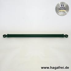 Spannbrücken verzinkt + grün Ø34mm mit Schellen 34 oder 42mm