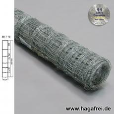 Knotengeflecht extradickverzinkt 80x7x15 50m - AUSLAUF